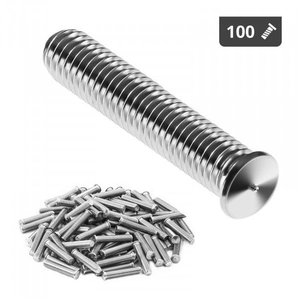 Stud Welder Set - M5 - 25mm - stainless steel - 100 pieces