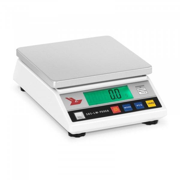 Precision Scale - 7,500 g / 0.1 g - LCD