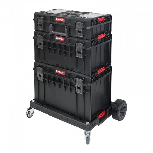 Toolbox Set System One Pro - 3 cases - 1 transport dolly