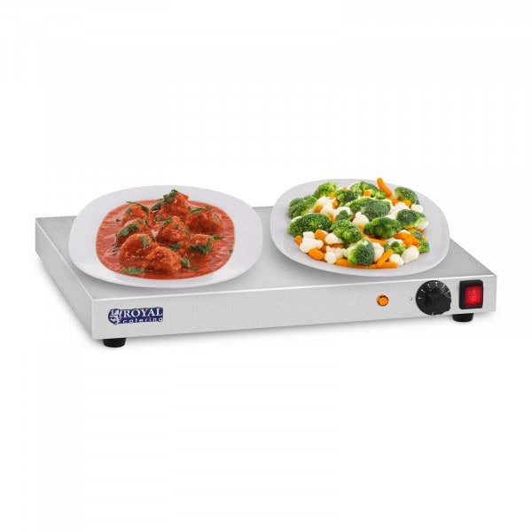 Warming tray - 250W - Stainless steel - 50cm
