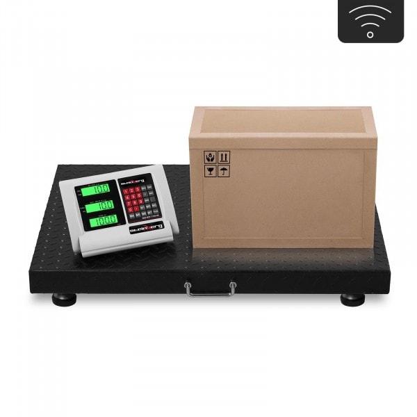 B-WARE Floor Scale - 1 t / 200 g - LCD - wireless