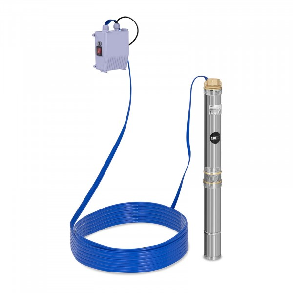 Well Pump - 3,800 L/h - 250 W - Stainless Steel