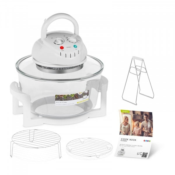 B-WARE Halogen Oven Cooker with Extender Ring - 250 °C - 60 min