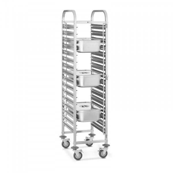 B-WARE Tray Trolley- 16 GN Slots