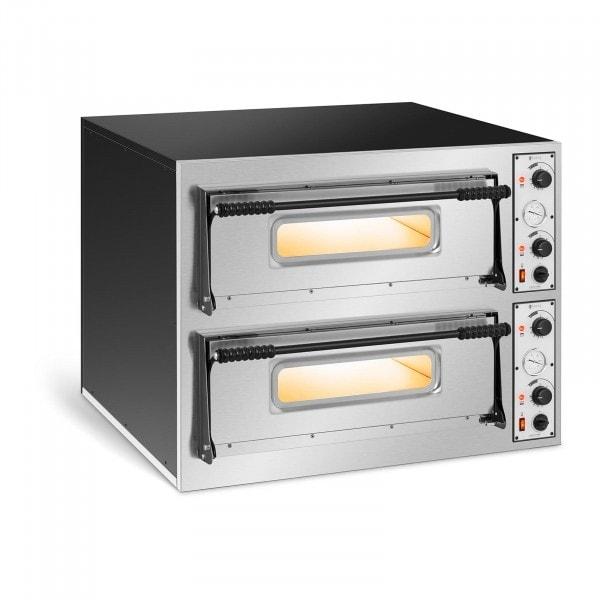 Pizza Oven - 2 chambers - 8 x Ø 32 cm