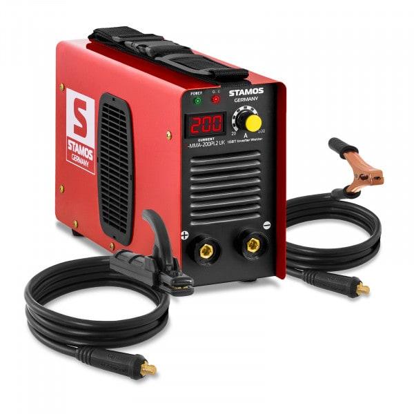 Electrode welder - 200 A - Hot Start - LED Display