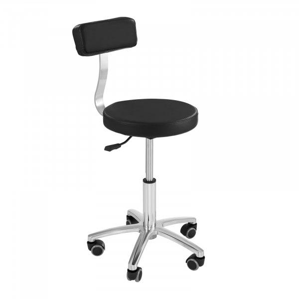 The hairdresser's chair MONZA BLACK