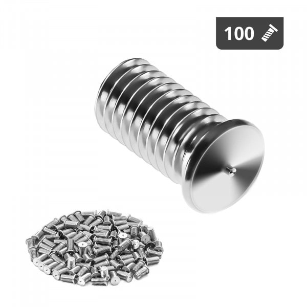 Stud Welder Set - M8 - 16mm - 100 pieces