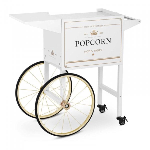 Popcorn Cart - white & gold