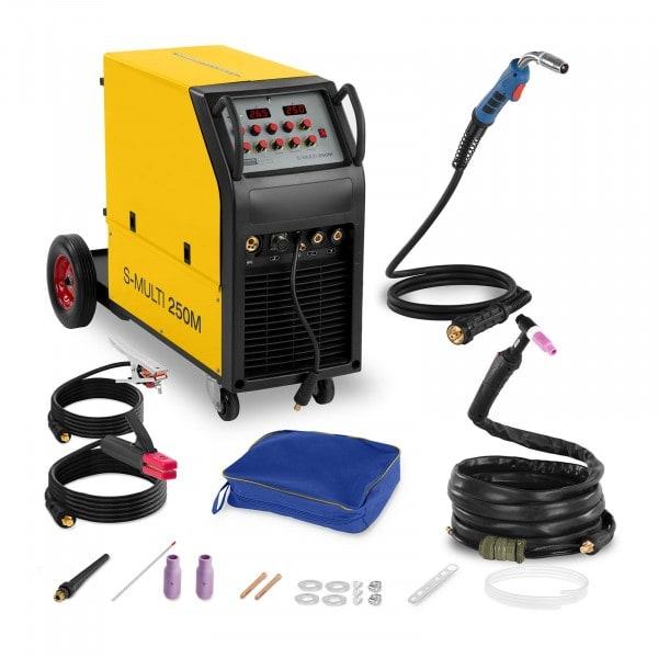 Multi Process Welder - 250 A - 400 V - MIG/MAG - WIG - E-Hand - FCAW
