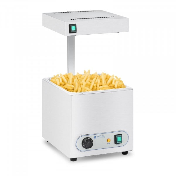 Chip Warmer With Infrared Heat Lamp - 850 W