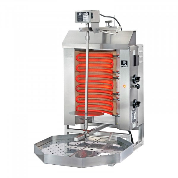 Kebab Grill - 4500 W - up to 15 kg of meat