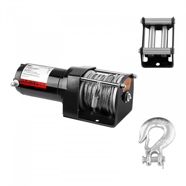 Electric Winch - 1.590 kg - 3.500 lbs