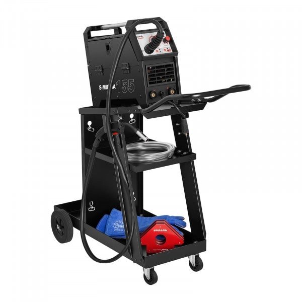 Welding Cart - Angled - 3 Compartments - 75 kg