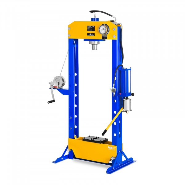 Factory second Hydro Pneumatic Workshop Press - Up to 30 Tons