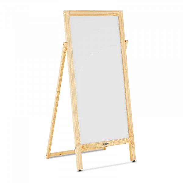 Sandwich Board - 450 mm x 900 mm - magnetic & writable whiteboard