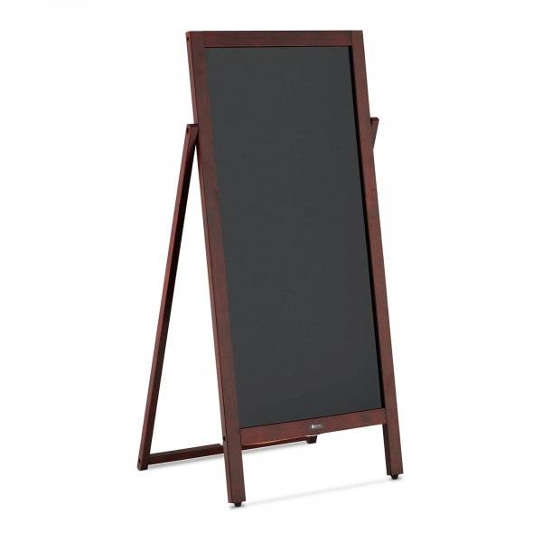 Sandwich Board - 450 mm x 830 mm - magnetic & writable blackboard