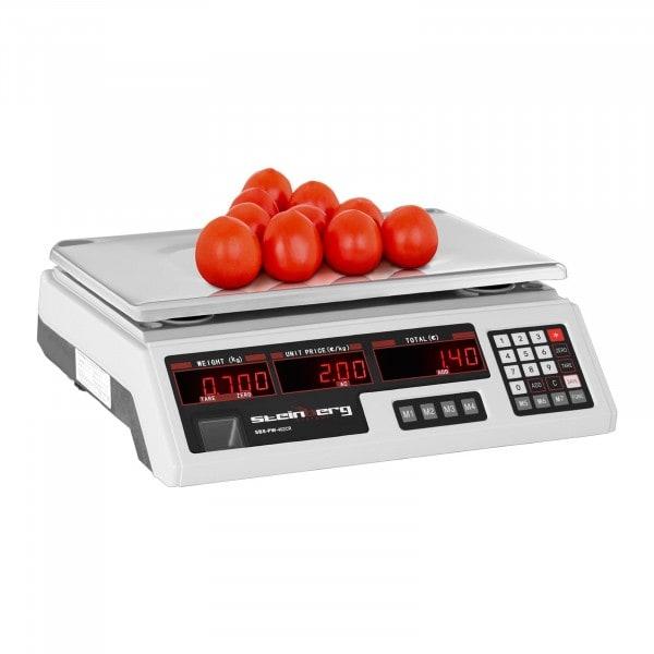 Price Scale - 40 kg / 2 g - 33.7 x 23.1 x 0.6 cm