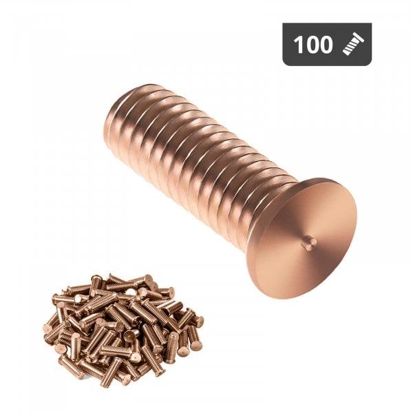 Stud Welder Set - M3 - 10mm - steel - 100 pieces