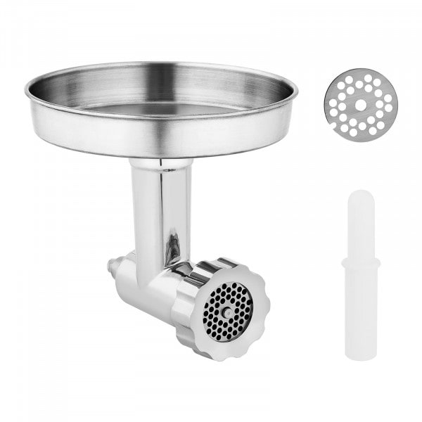 Meat Grinder Attachment - for stand mixers RCPM-7,1D & RCPM-7,1C - Royal Catering - 8 pieces