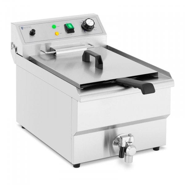 Electric Deep Fat Fryer - 13 L - 3000 W - drain tap - cold zone