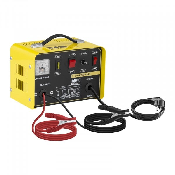 Heavy Duty Battery Charger - 12/24 V - 8/12 A