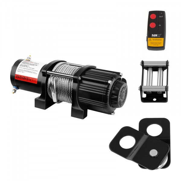 Electric Winch - 2.040 kg - 4.500 lbs