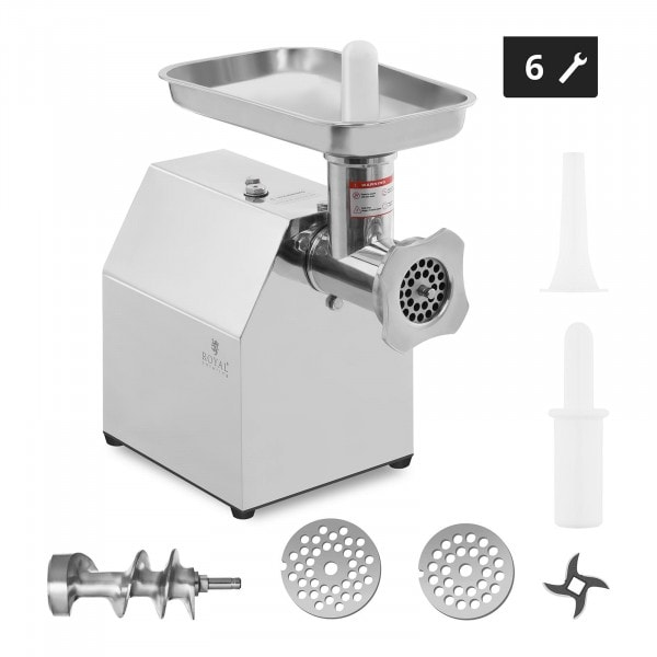 Stainless Steel Meat Mincer - Return Flow - 140 kg/h - ECO