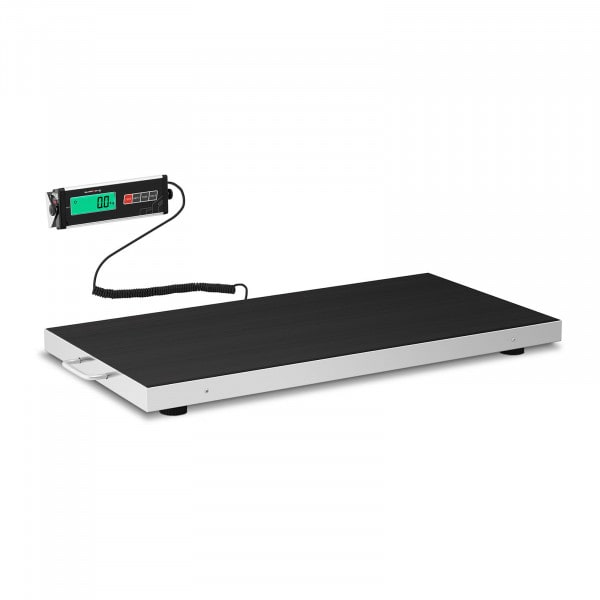 Floor Scale - 300 kg / 100 g - anti-slip mat - LCD