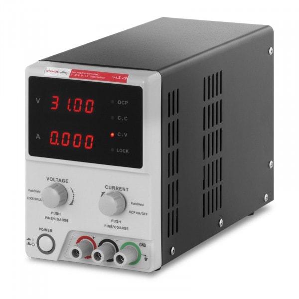 Bench Power Supply - 0-30 V, 0-5 A DC, 250 W - USB