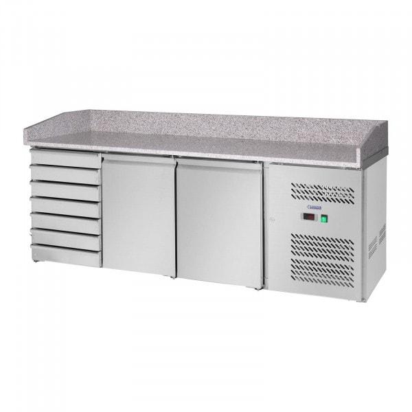 Cooling Table - 580 L - Granite Counter - 2 Doors