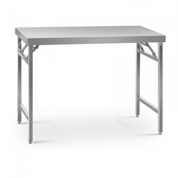 Folding Work Table - 60 x 120 cm - 210 kg load capacity