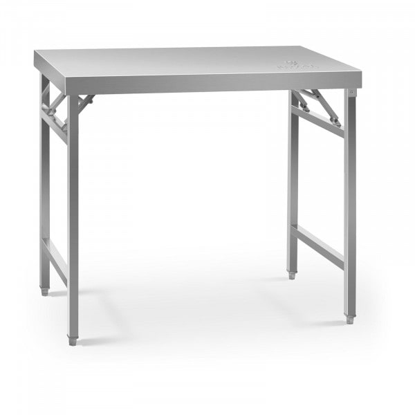 Folding Work Table - 60 x 100 cm - 200 kg load capacity