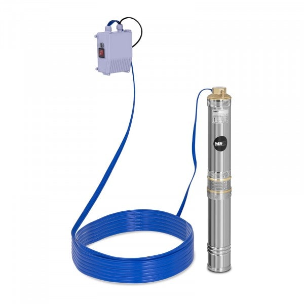 Well Pump - 6,000 L/h - 370 W - Stainless Steel