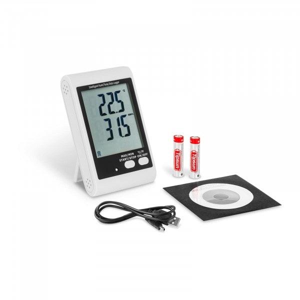 Data Logger - LCD-Display - Temperature + Humidity