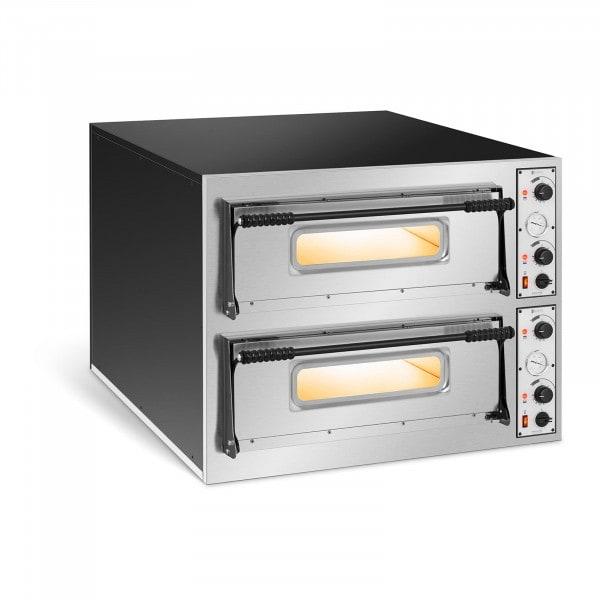 Pizza Oven - 2 chambers - 12 x Ø 32 cm