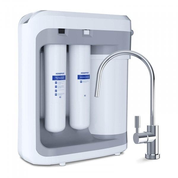 RO-203 system odwróconej osmozy bez mineralizacji / RO-203 reverse osmosis with a tap, without water mineralization / RO-203 Umkehrosmose mit einem Hahn ohne Wassermineralisierung