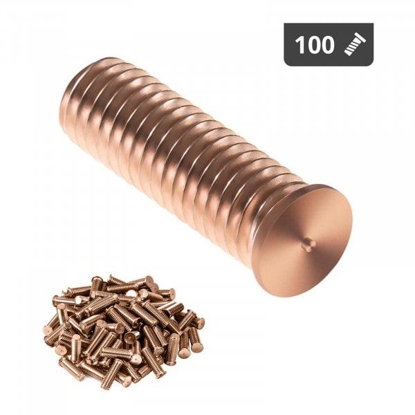 Stud Welder Set - M8 - 25mm - steel - 100 pieces