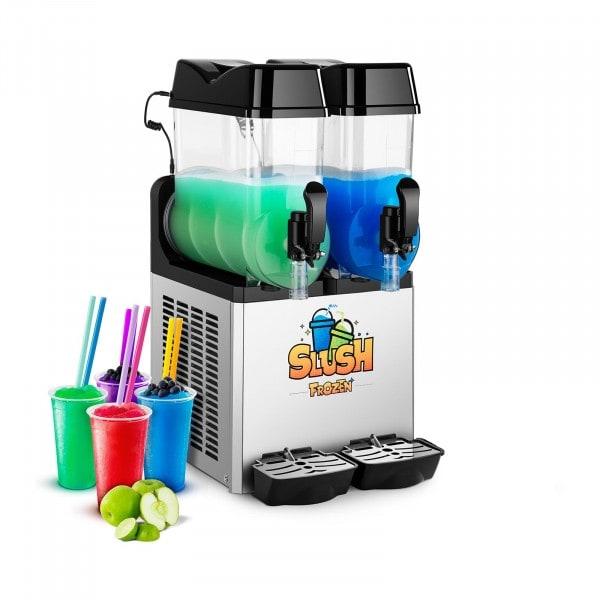 Slush Maker Machine - 2 x 12 Litres - LED