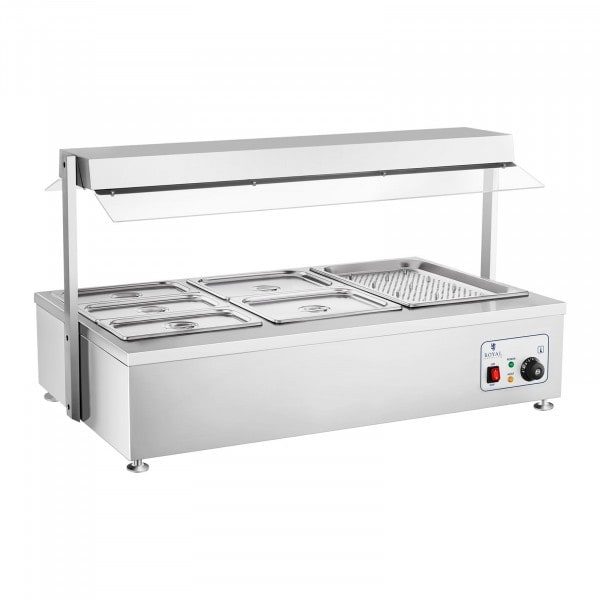 B-WARE Bain-Marie - 6 GN - with meat attachment