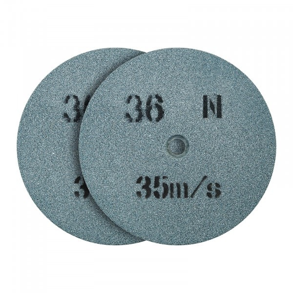 Spare Wheel For Bench Grinder 150 x 16 mm - 36 Grain