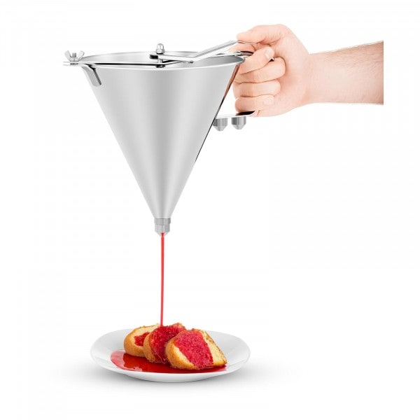 Piston Funnel - 2 Litres - With 3 Nozzles