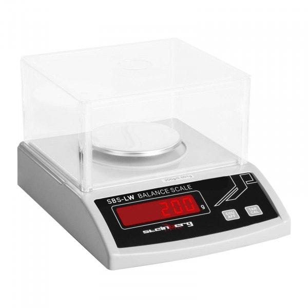 B-WARE Precision Scale - 200 g / 1 mg - White
