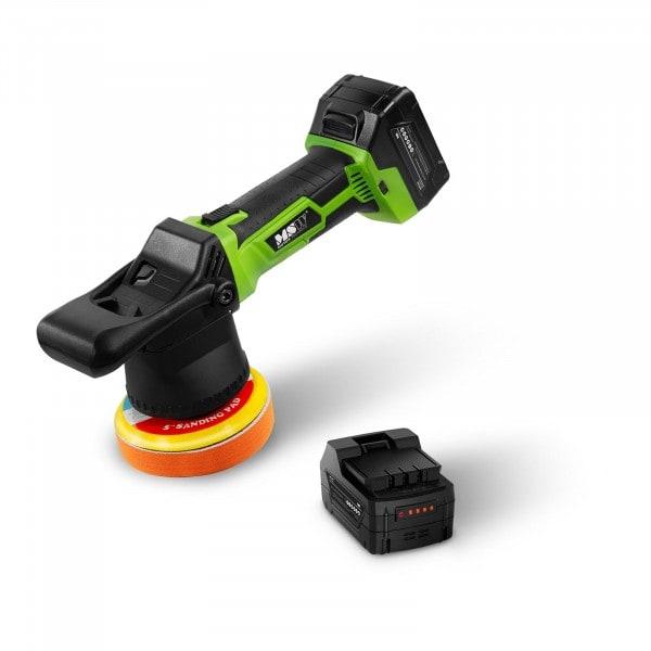 Cordless Polisher - 400 watts - incl. 2 batteries