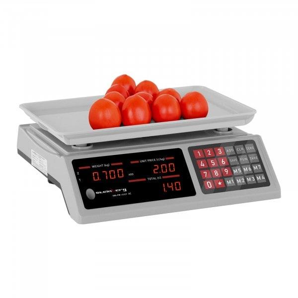 B-WARE Price Scale - 40 kg / 2 g - 33.7 x 23.1 x 0.6 cm