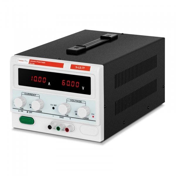 Laboratory Power Supply - 0-60 V - 0-10 A DC - 600 W