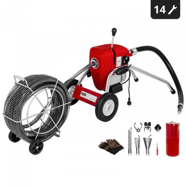 Drain Cleaning Machine 1100 Watt 700 rpm Ø 32 mm