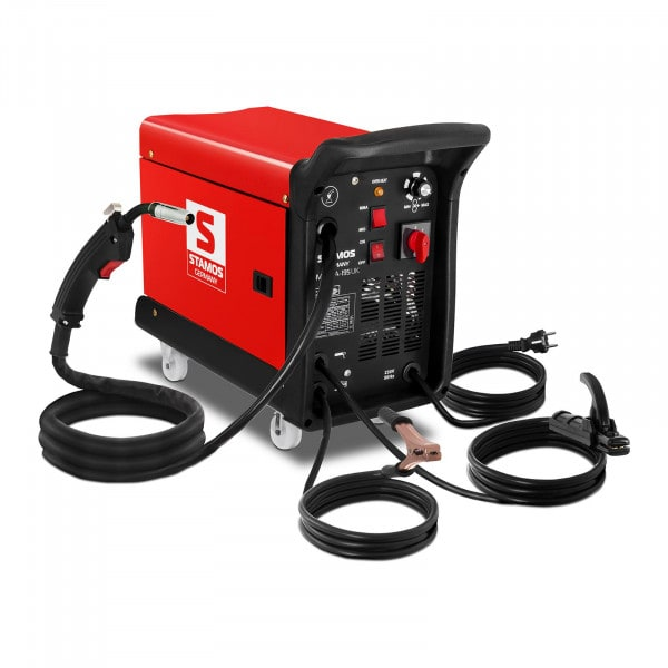 Combined Welder - 195 A - 230 V - with cart