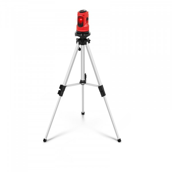 Cross Line Laser with Tripod and Carrying Case - 10 m