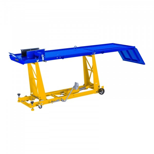 Motorcycle Lift - 450 kg - 220 x 68 cm - Front Wheel Clamp